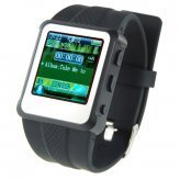 Original Watch MP4 Player 2GB Black - 1.5-inch Screen