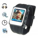 Original Watch MP4 Player 8GB Black - 1.5-inch Screen