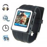 Original Watch MP4 Player 8GB Black - 1.5-inch Screen