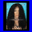 "16"" CURLY LACE WIG"