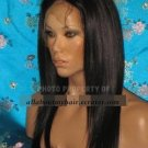 "18"" STRAIGHT LACE WIG"