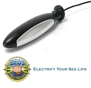 Zeus Electro Torpedo Plug Electric Sex