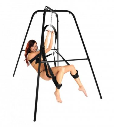 Trinity Sex Swing Stand Hanging Spinning Sex