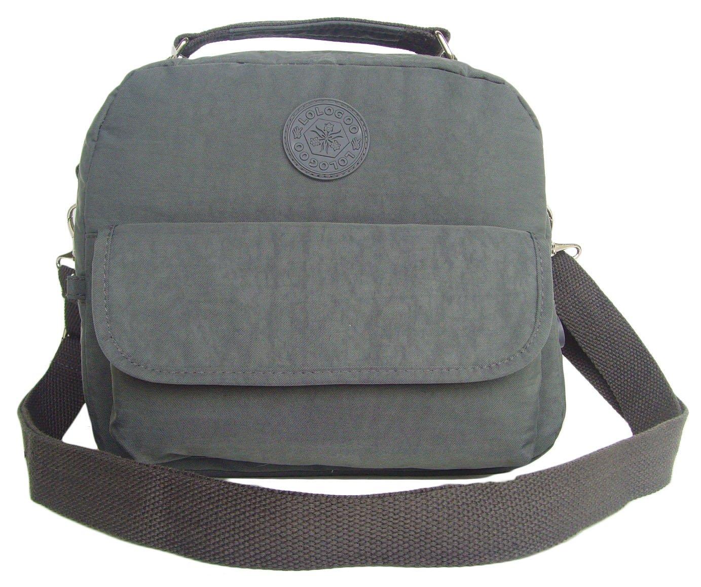 HONG YE Pure Stripe Slouch Bag,sku:hb76grey6