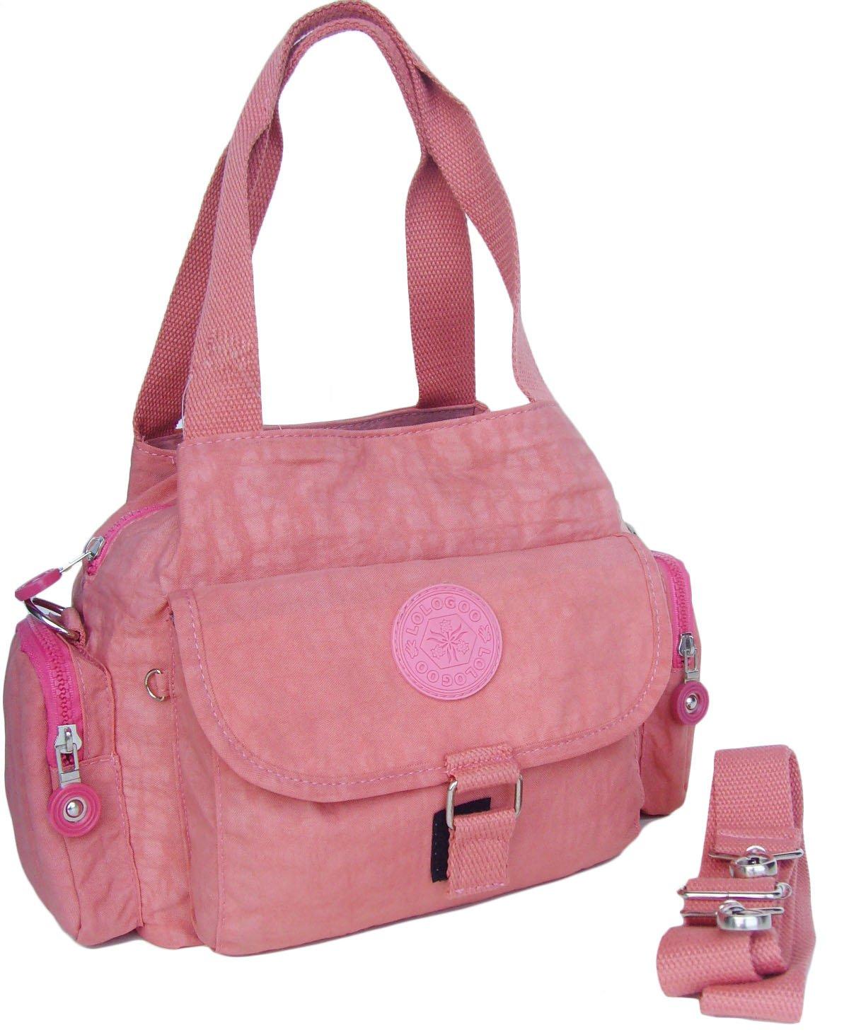 HONG YE Pure Stripe Slouch Bag,sku:hb077orange1