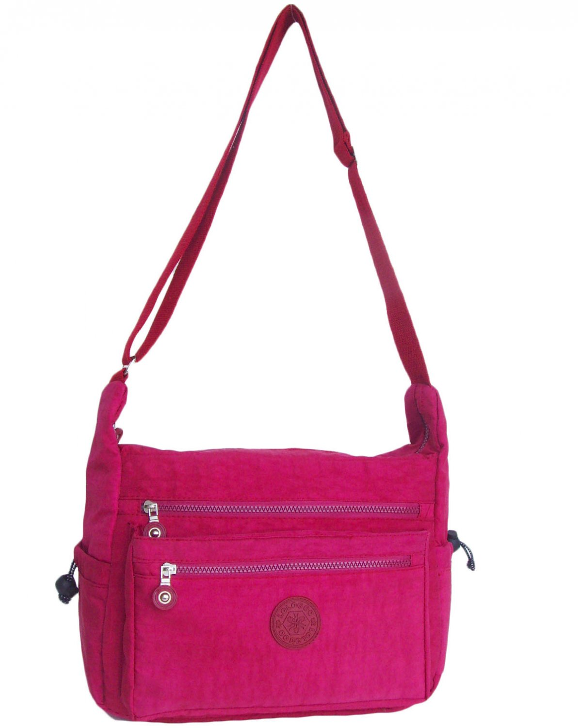 HONG YE Pure Stripe Slouch Bag,sku:hb80red2