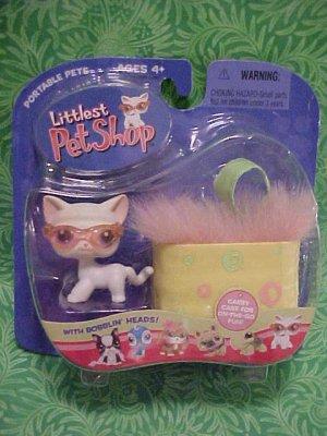 Littlest Pet Shop WHITE KITTY CAT Sunglasses PURSE NIP