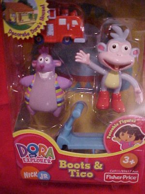 Dora The Explorer BOOTS Talking House Figure NIP