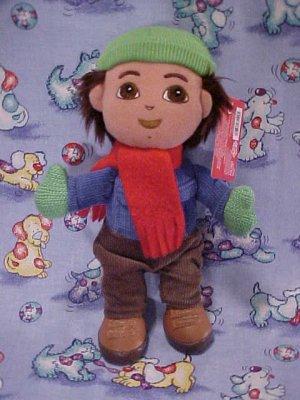 Dora The Explorer GO DIEGO Holiday Plush Gund Doll NWT