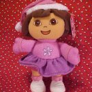 Dora The Explorer DORA Holiday Plush Gund Doll NWT