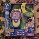 Dora The Explorer GO DIEGO GO Talking Rescue Radio NIB
