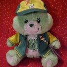 Care Bears GOODLUCK Team Spirit Plush 10in. NWT