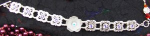 Swarovski silver and crystal bracelet