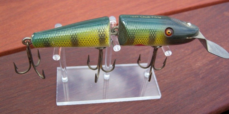 Custom Jointed Creek Chub Pikie Display Stand