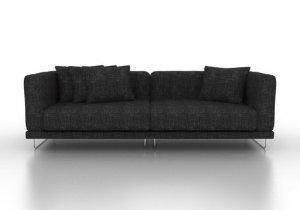 Ikea Tyl 214 Sand 1 Arm 2 Seat Custom Sofa Loveseat