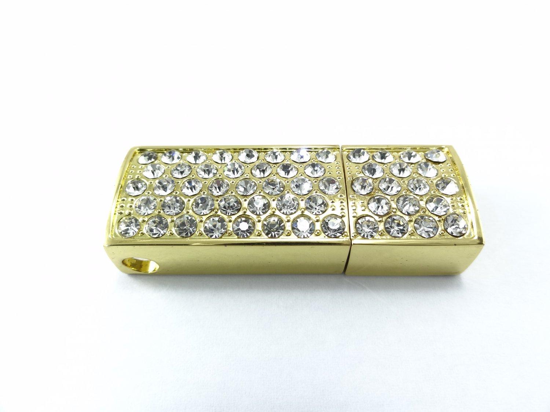 Gold Bar 4GB USB Memory