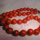 10mm 41 garnet beads/necklace