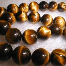 12mm yellow tiger eye stone beads/necklace