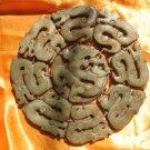 ancient jade Chinese 9 dragon royal symbol totem