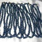 Wholesale 10 pcs 6-7mm dark blue pearl necklace
