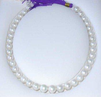 RARE $2000 12mm white round FW pearl &14k clasp