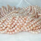 """wholesale 9-10mm 16"""""""" pink pearl necklace strings"""