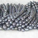 """wholesale 9-10mm 16"""""""" peacock pearl necklace strings"""