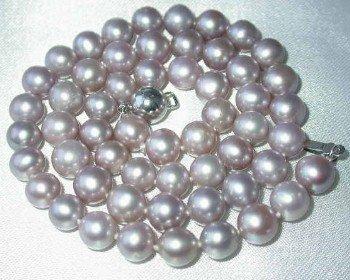 "17"""" lustrous 7-7.5mm lavender pearl necklace"