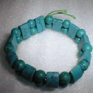 beatiful green square&round turqoism bracelet