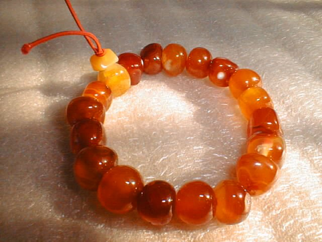 stunning red carnelian stone bracelet