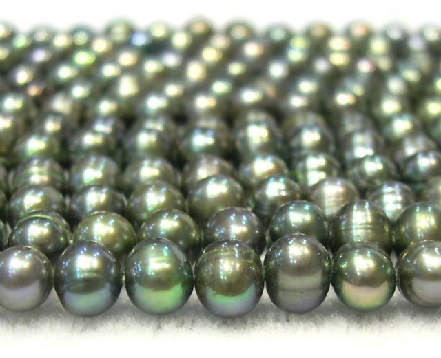 6PCS BAROQUE WHOLESALE GENUINE CULTURED Pearl necklaces