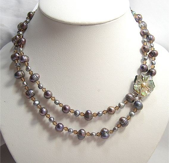 BAROQUE 8-11MM Genuine Cultured Pearl Necklace