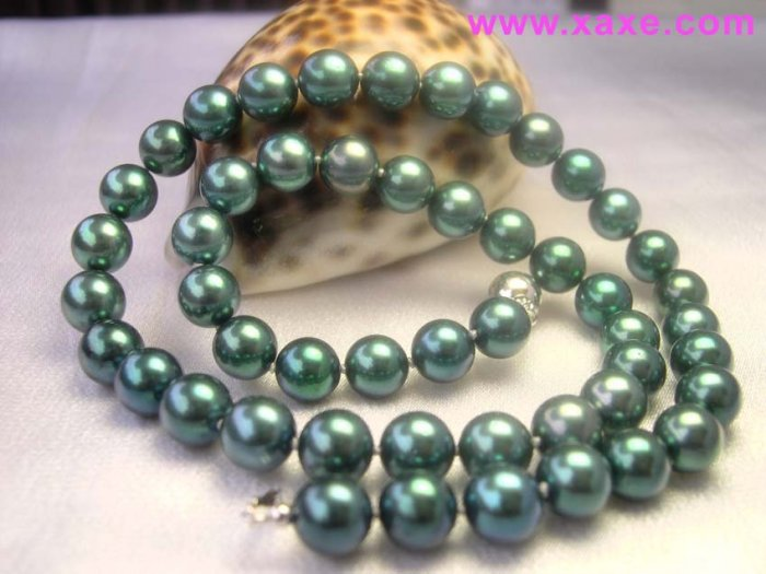 Excellence 6-7mm Peacock Akoya Pearl Necklace