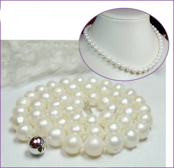 Excellence 7-7.5mm Genuine Cultured Pearl Necklace