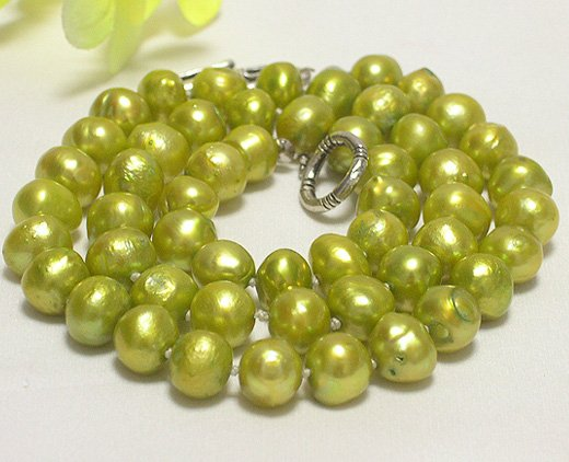 baroque single 18'' 8-9mm cultured pearl necklace