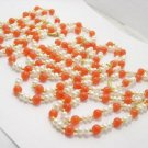 wholesale 4 pcs FW pearl and jade Necklace & bracelet