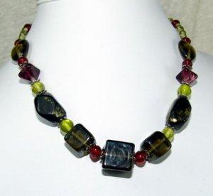 special black dreamstone necklace