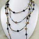 super long dreamstone beaded necklace