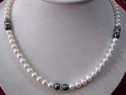 Beautiful 7-8mm fresh water pearls necklace