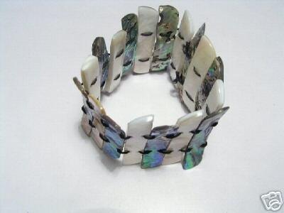 Nobby Stretch Shell Bracelet