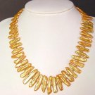 Necklace FW Biwa Pearls Large 25mm Bright Gold