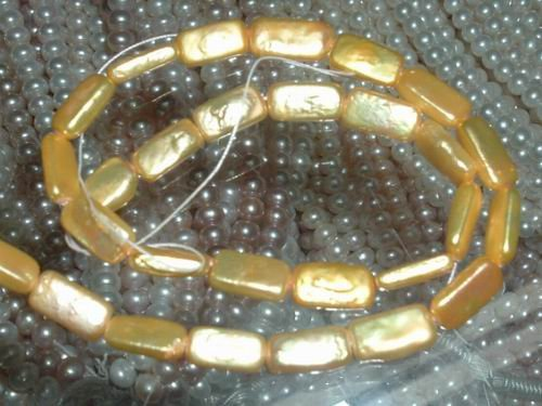 2 strand freshwater pearl loose string