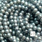 10 strand 6-7 mm argenteous freshwater pearl