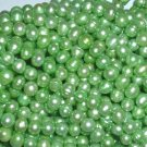 10 strand 6-7 mm peak green freshwater pearl string