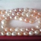 A++ 10 strands 7-8 mm nature nugget freshwater pearl