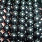 A++ 5 strand 12 mm BLACK south seashell pearl