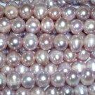wholesale 10 strand 9-10 mm purple freshwater pearl