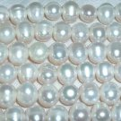 wholesale 10 strand 9-10 mm white freshwater pearl