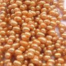 wholesale 20 strand 6-7mm potato shape fw pearl-orange