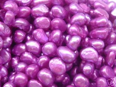 wholesale 10 strand 6-7 mm nuggets shape fw pearl-purple